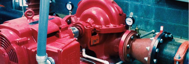 fire sprinkler equipment banner